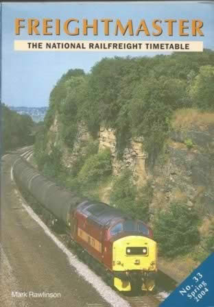 Frieghtmaster: The National Railfreight Timetable No.33