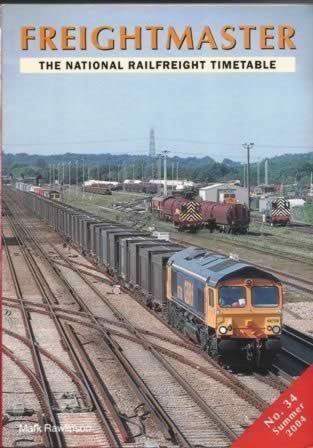 Frieghtmaster: The National Railfreight Timetable No.34