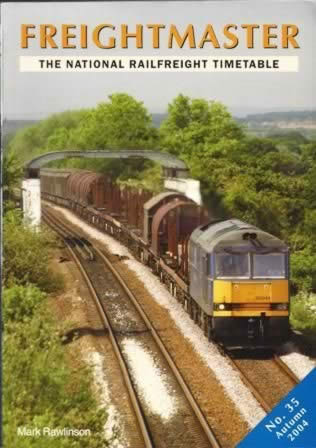 Frieghtmaster: The National Railfreight Timetable No. 35