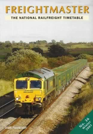 Frieghtmaster: The National Railfreight Timetable No. 36