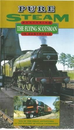 Pure steam the Flying Scotsman