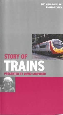 Story of trains - Presented by David Shepherd (Double box set)