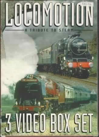Locomotion; A Tribute to Steam no 22 Video 1; Locomotion, Rail and Snow Video 2: Steam on the Settle & Carlisle Video 3: Waterloo & Waterloo to Bournemouth in the 60s