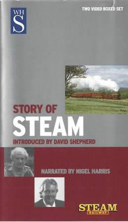 Story of steam - Introduced by David Shepherd (Double box set)