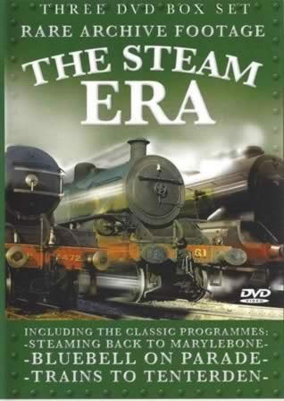 The Steam Era - Rare Archive Footage, Triple DVD Collection