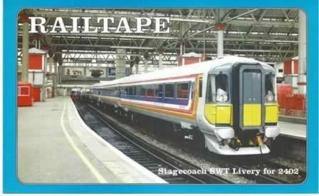 Railtape Monthly - 19 - March 1996