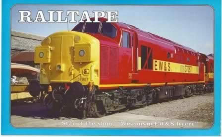 Railtape Monthly - 24 - August 1996