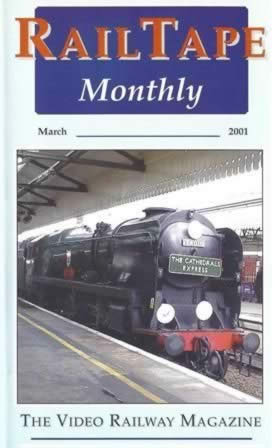 Railtape Monthly - March 2001