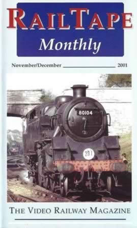 Railtape Monthly - Nov/Dec 2001