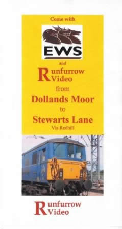 Runfurrow Video - Cab Ride - Dollands Moor to Stewarts Land Via Redhill: No. 22