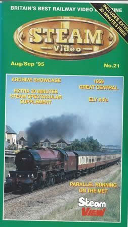 TVP: Steam Video Aug/Sep '95: No 21