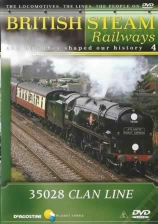 British Steam Railways - 35028 Clan Line