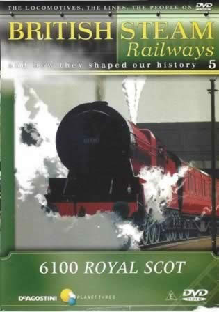 British Steam Railways - 6100 Royal Scot