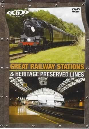 Great Railway Stations-Heritage Preserved Lines - 6 DVD Boxed Set