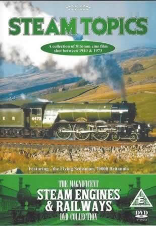 Steam Topics. Featuring - The Flying Scotsman, 70000 Britannia. The Magnificent Steam Engines-Railways Collection