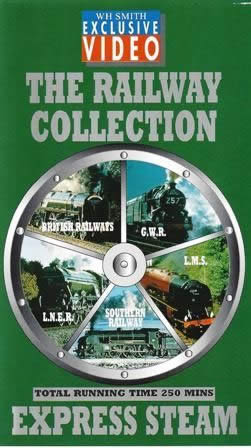 W H Smith: The Railway Collection - Express Steam (Double Video)