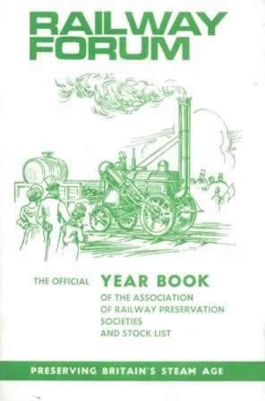 Railway Forum - ARPS Year Book And Stock List