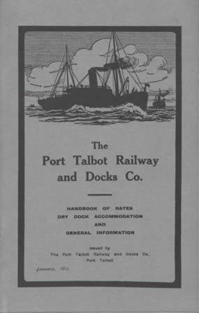 The Port Talbot Railway And Docks Co Rates Handbook