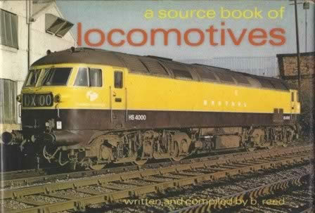 A Source Book Of Locomotives
