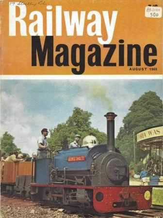 Railway Magazine August 1969