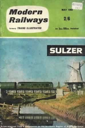 Modern Railways Magazine May 1962