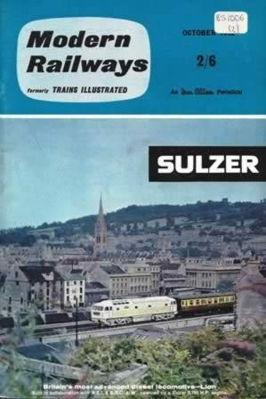 Modern Railways Magazine Oct 1962