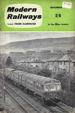 Modern Railways Magazine Nov 1962