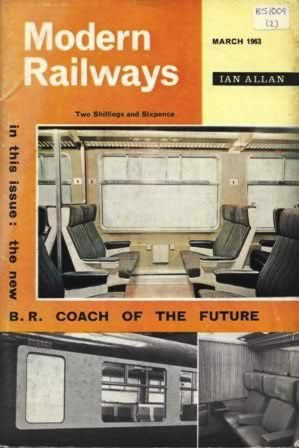 Modern Railways Magazine Mar 1963