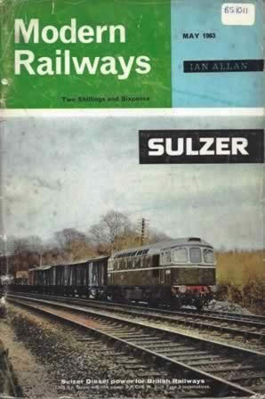 Modern Railways Magazine May 1963