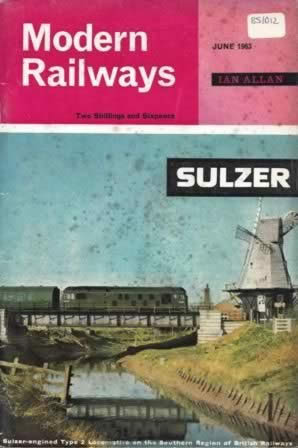 Modern Railways Magazine Jun 1963