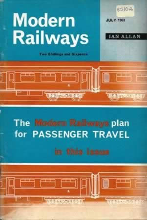Modern Railways Magazine July 1963