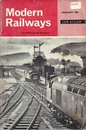 Modern Railways Magazine Jan 1964
