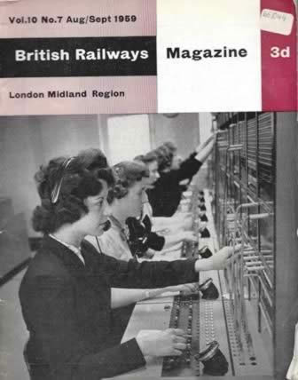 British Railway Magazine (LMR) Vol 10, No 7, Aug/Sep 1959