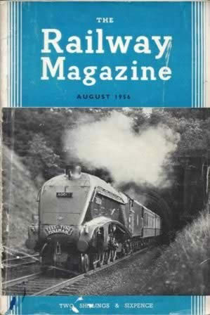 The Railway Magazine Aug 1956
