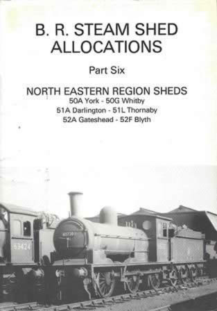 BR Steam Shed Allocations Part 6