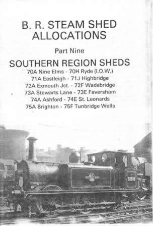 BR Steam Shed Allocations Part 9