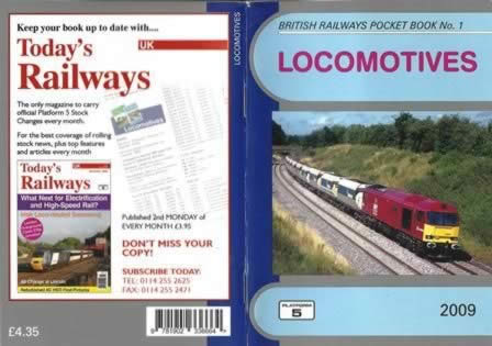 British Railways Pocket Book No. 1 Locomotives 2009