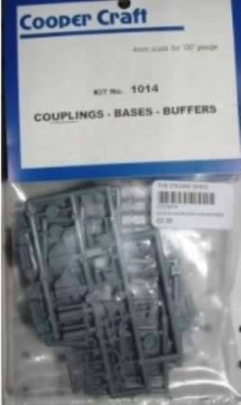 Cooper Craft: OO Gauge: Couplings, Bases And Buffers