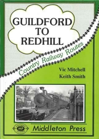 Country Railway Routes Guildford To Redhill