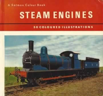 Salmon Colour Book Of Steam Engines (P/B)