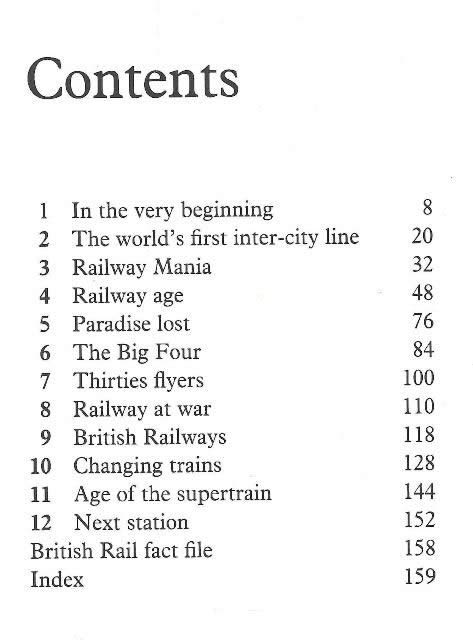 The Official British Rail Book Of Trains For Young People