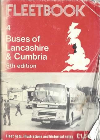 Fleetbook 4: Buses of Lancashire & Cumbria: 5th Edition
