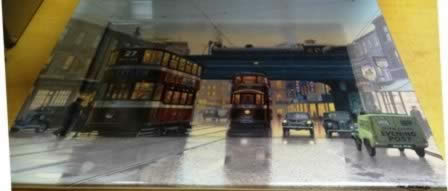 From Leeds to Belle. Limited edition Ceramic Plate Isle by Eric Bottomley Bradex 26-D08-057.1