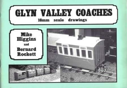 Glyn Valley Coaches 16mm Scale Drawings