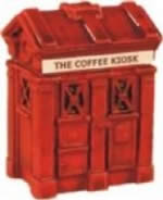Harburn Hamlett: OO Gauge: Coffee Kiosk, Red