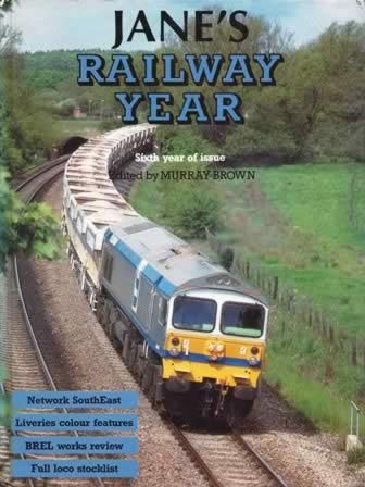 Jane's Railway Year 6th: Year Of Issue