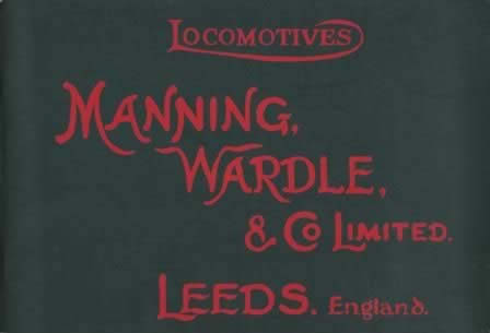 Locomotives Manning, Wardle, & Co Limited