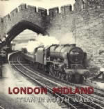 London Midland Steam In North Wales