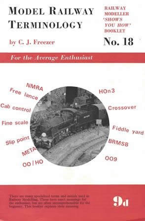 Model Railway Terminology No 18