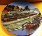 Morning Bright. Limited edition Ceramic Plate by B J Freeman Bradex 26-D8-20.4